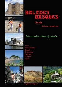 "Livre ""Guide balades basques"""